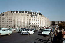 YANKEE STADIUM 8X10 PHOTO MLB PICTURE BASEBALL NEW YORK YANKEES NY 1950'S #2