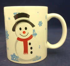 Personalized Coffee Mug Christmas Snowman Custom Photo Ceramic Cup