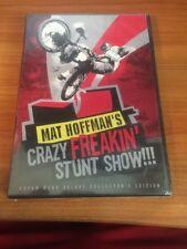 Mat Hoffman's Crazy Freakin' Stunt Show!!! (DVD) RARE,OOP...124