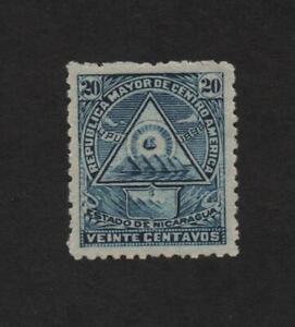 Nicaragua 109I (No wmk) Mint  ..  2021 Scott=25.00