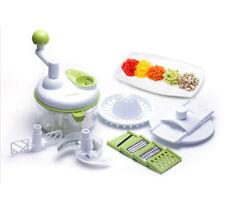 Baby Food Multi Manual Food Processor Full Options Set Chopper Slicers Safety