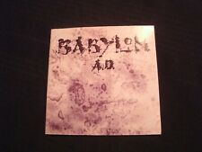 BABYLON A.D. -  BABYLON AD  - 1989 CD / VG+/ Hard Rock Metal