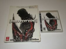 Prototype (Sony PlayStation 3, 2009) w/ Prima Official Guide