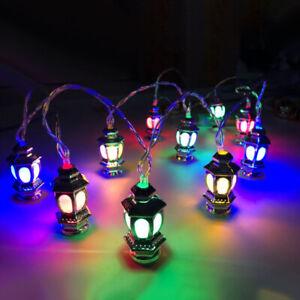 Ramadan and Eid Decorations Fairy Lights Islam 10LED Light String Lantern 1.65m