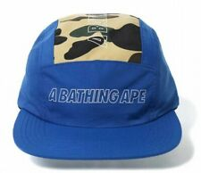 ... APEStyle  Bucket HatSize  L. A BATHING APE 1ST CAMO JET Adjustable Cap  Blue From Japan with Tracking 6d0d73a486ec