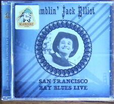 RAMBLIN' JACK ELLIOT San Francisco Bay Blues Live CD (2015) NEW & SEALED