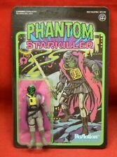 Unpunched Super 7 ReAction SDCC Exclusive Phantom StarKiller Grey Ghoul Figure