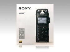 SONY PCM-D10 Registratore pcm lineare 16GB High-Res Rec 192KHz 24bit 2019 DHL Express