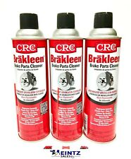 CRC Brakleen 05089 Brake Parts Cleaner, Degreaser - 19 oz can (3 PACK)