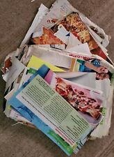 Recipe Clippings Mixed assortment from boxes of clippings some new, some old