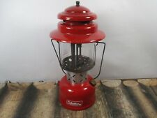 VTG LANTERN COLEMAN 220E RED  DATED 2 - 69  NO RESERVE