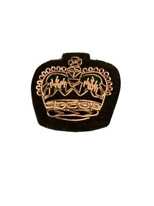 🇬🇧 Rifles Major Raised Embroiderd Crown