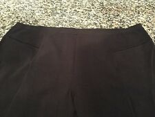 ZoZo Womens BLACK Stretchy Pants Slacks Womans size 22
