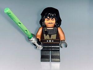 LEGO STAR WARS GENUINE OLD STYLE JEDI QUINLAN VOS & SABER FROM 7964 - NEW