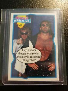 1993 Topps Wacky Wrestling #61 Diamond Studd/ Diamond Dallas Page Rare Rookie