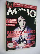 MOJO - FEBRUARY 2002 - RICHEY EDWARDS - WHITE STRIPES - MARVIN GAYE