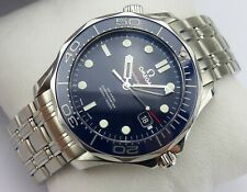 OMEGA Seamaster Professional Diver Co-Axial 41 mm - blue dial - Papers
