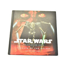 STAR WARS RPG Roleplaying game Threats of the galaxy guide Book Manual Saga