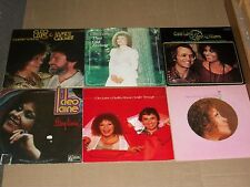 CLEO LAINE lot 6x LP easy livin THAT OLD FEELING james galway I AM A SONG dudley