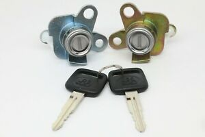 NEW Door Lock Set with Keys (Driver and Passenger) for 98-02 Corolla Prizm