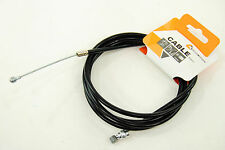 Ciclovation 1.2mm Black Zinc Inner Brake Cable and Housing Kit for MTB/Road Bike