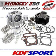 KDF ENGINE REBUILD CYLINDER CRF50 PISTON 50CC 70cc FOR HONDA MONKEY Z50J BORE UP