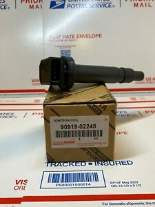 NEW IGNITION COIL  TOYOTA 90919-02248 TACOMA TUNDRA SCION xB Lexus ISF Pack of 1