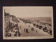 CARTE  POSTALE  :  14    CALVADOS   -  CABOURG   -   la  Terrasse  des  Anglais
