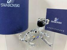 Swarovski Crystal Figure Dalmation Puppy Sitting 7619 000 008 /  628909 MIB  COA
