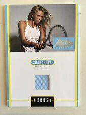 Maria Sharapova 2005 Ace Authentic Special Edition J-3 Dress Swatch