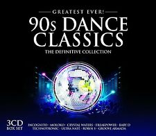 90S DANCE CLASSICS-THE DEFINITIVE COLLECTION feat. MOLOKO, BABY D u.a. 3 CD NEU