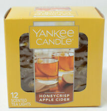 Yankee Candle Honeycrisp Apple Cider Box of 12 Tea Lights