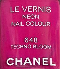 Chanel nail polish 648 TECHNO BLOOM rare limited edition 2019