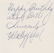 Ella Fitzgerald - Queen of Jazz - Autograph Note Signed