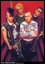 The Exploited  Poster A1 Size 84.1cm x 59.4cm -  33 inches x 24 inches *PUNK*
