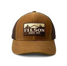 Filson Logger Mesh Cap Hat Trucker Tan OSFA 30237 Tin Cloth