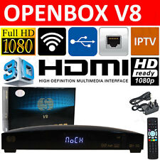 Openbox V8 HD FTA IPTV Web TV Satellite Receiver Set top Sky Box Wifi Adapter