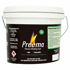 Preema 8kg Ethanol GEL Fondue Camping Chafing Dishes Emergency Heat Restaurant