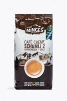 Minges Café Creme Schümli 2 ...  x 1.000g ganze Bohne ... Deutsche Ware!!!