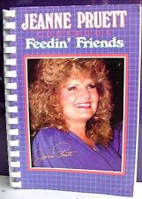 Jeanne Pruett Feedin' Friends Cookbook, 1986 Spiral Bound, Country Music Star