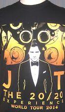 2014 Justin Timberlake Adult Small Medium Concert T-Shirt ( S M Las Vegas LA )