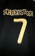 Germany #7 SCHWEINSTEIGER Jersey World Championship South Africa 2010 Black