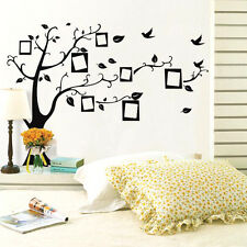 Kids Room Large Photo Frame Family Tree Removable Wall Decal Sticker  Home Decor