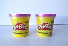 Purple PLAY-DOH Modeling Compound  - TWO 3 oz Cans  (6 oz total)  Play Dough