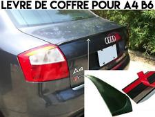 LAME COFFRE SPOILER BECQUET LEVRE AILERON pour AUDI A4 B6 2001-2005 RS4 S4 SLINE