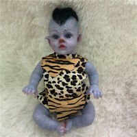 """12"""" Handmade Cetailed Painting Fairy Avatar Dolls Soft Touch Cute Baby Doll"""