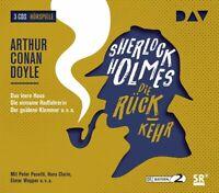 SHERLOCK HOLMES 4-DIE RÜCKKEHR - DOYLE,ARTHUR C.  3 CD NEW