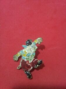VERY RARE - 3 LITTLE PIGS 40's Portugese Pin hand painted - LUSO/OSUL - RARE #2