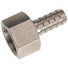 """Air ligne tuyau en cuivre de queue tube connecteur 3/8"""" 9mm x1/4 bspp femelle Pk5"""