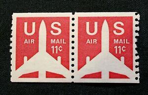 US Stamp Scott #C82 ~ Jet Airliner Coil 1971 11c MH GR07
